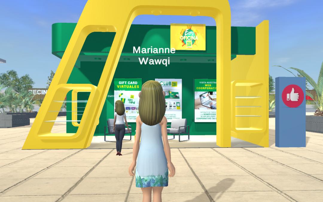Beneficios de eventos virtuales basados en avatares