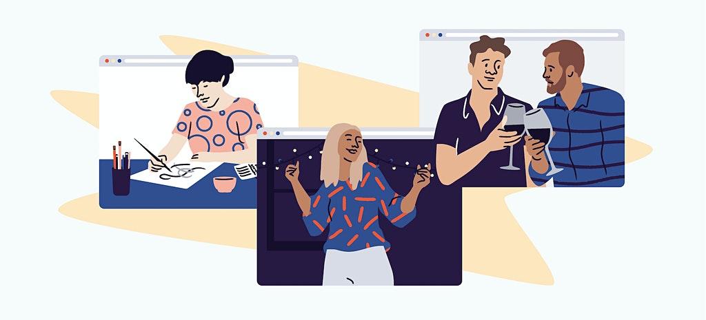 Plataforma para organizar eventos corporativos online