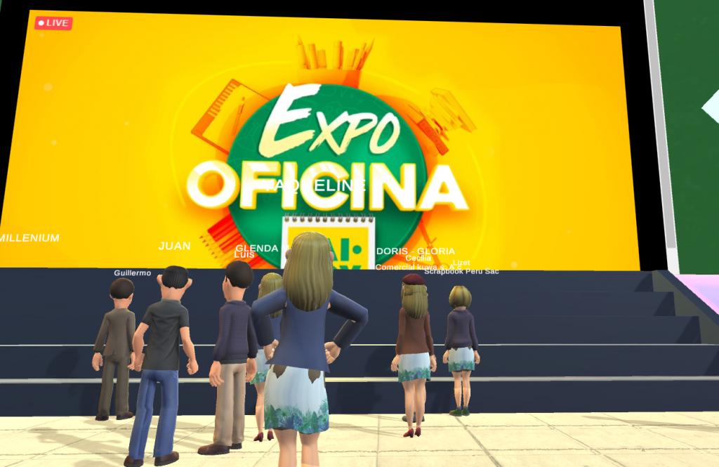 Plataforma 3D para lanzamientos virtuales de productos