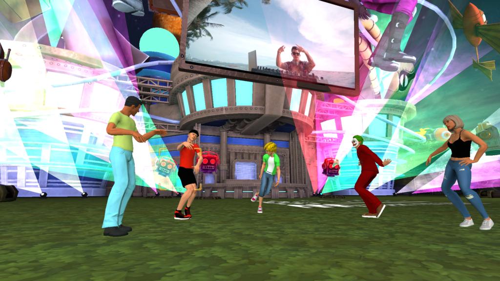 Plataforma 3D Team Building virtual