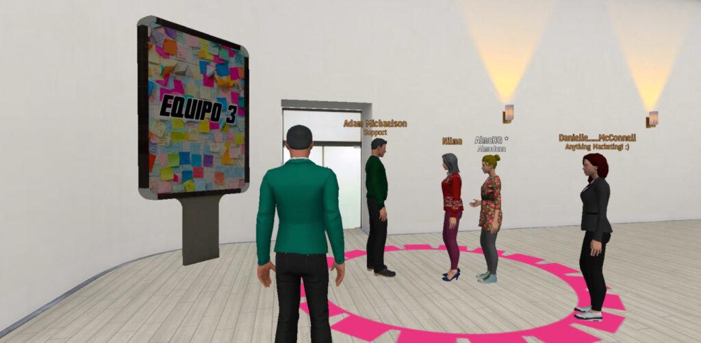 Plataforma 3D para Team Building virtual