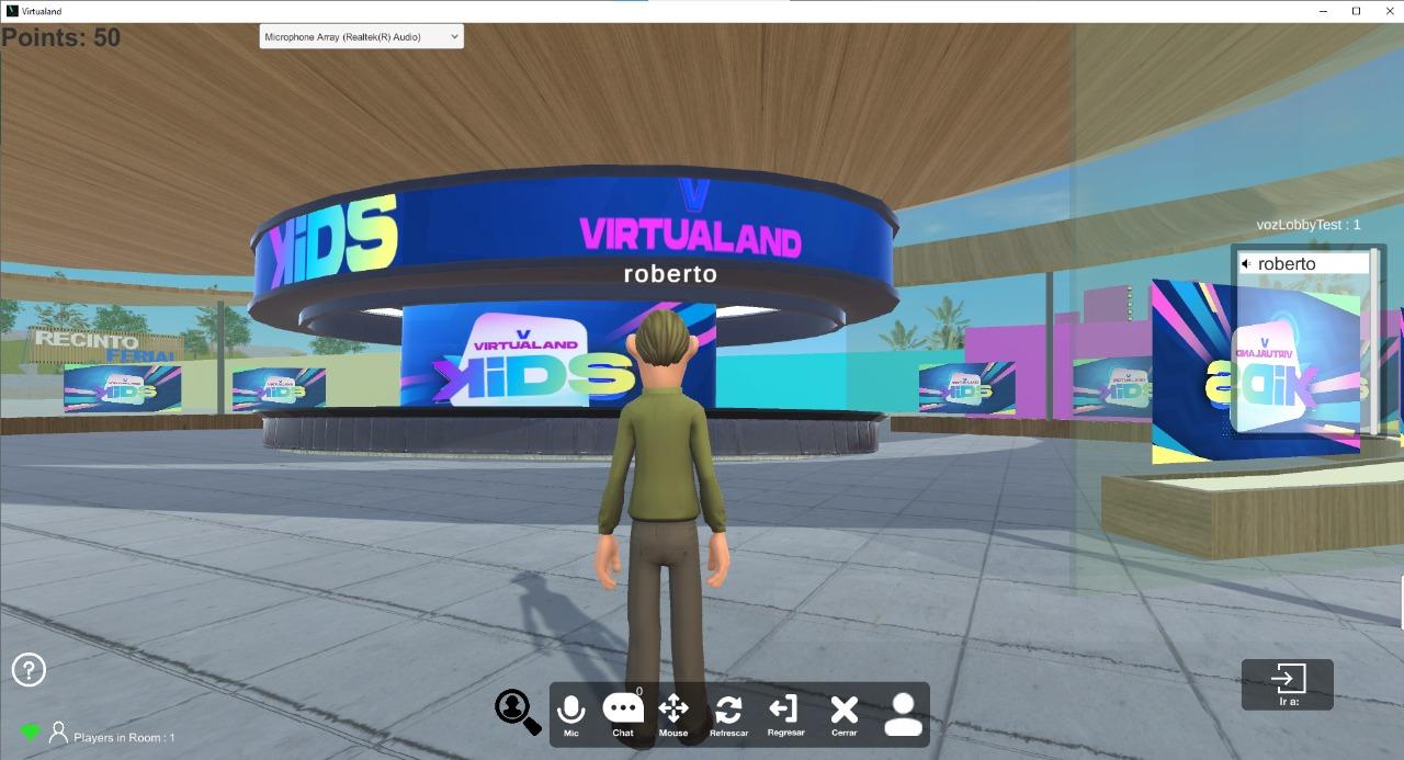 Show virtual infantil Plataforma 3D innovar fiestas niños